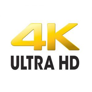 4K UHD Logo Featured