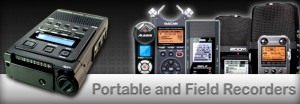 Portable-and-Field-Recorders