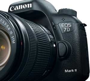 Canon 7D Mark II 4K Shooters Front