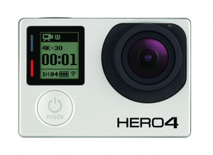 GoPro Hero 4 Black 4K shooters