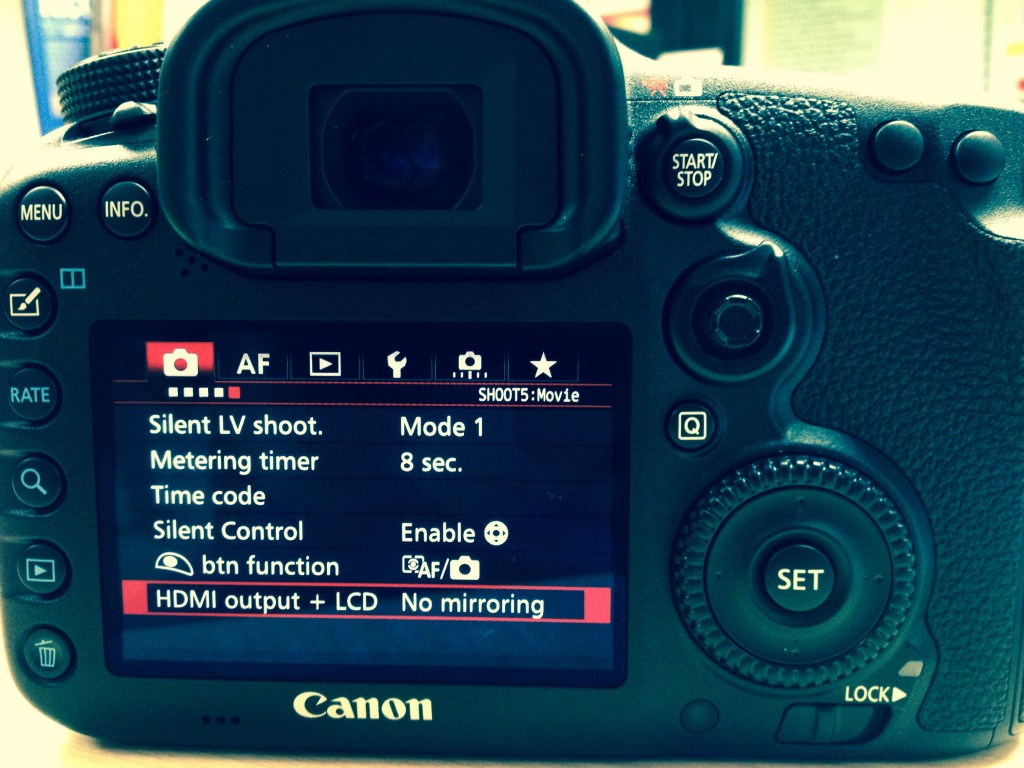 HDMI Out Canon 7D Mark II 4k SHooters