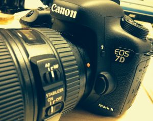 Canon 7D Mark II Front 4K Shooters