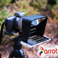Parrot Teleprompter Outdoors with logo2