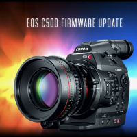 Canon C500 firmware update