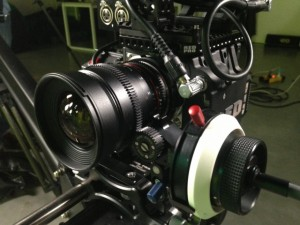 red epic rokinon