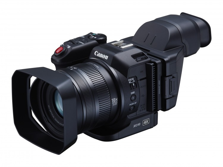 XC10 4K camera front