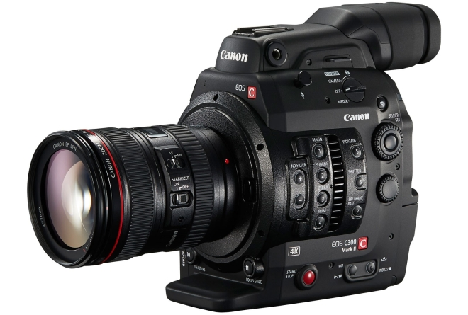 canon c300 mark ii 4k shooters