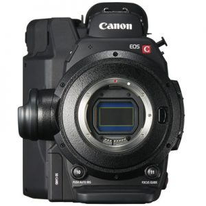 canon c300 mark ii front 4k shooters