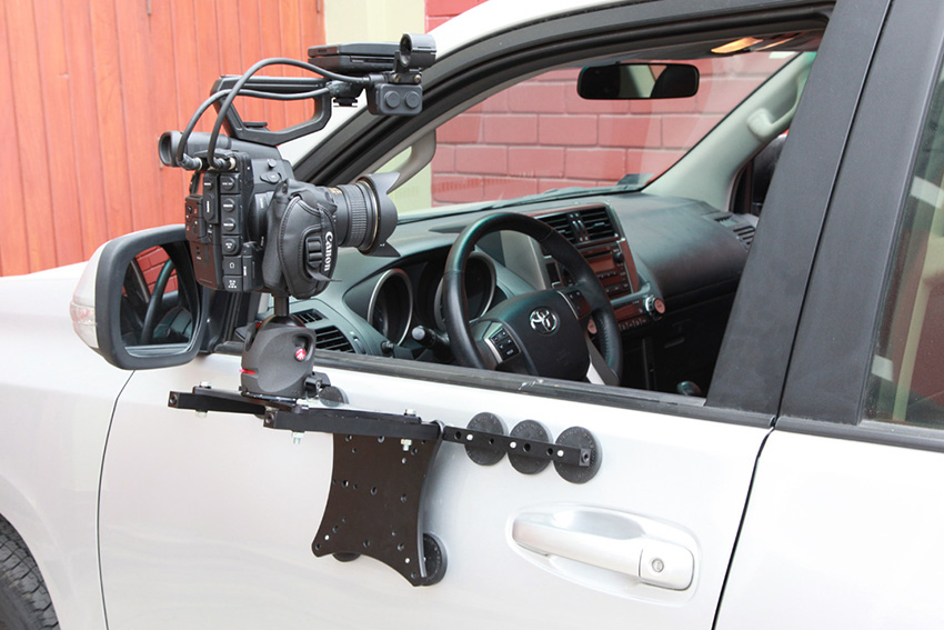 take your car action shots to the next level with the rigmount xl camera gimbal mount 4k shooters. Black Bedroom Furniture Sets. Home Design Ideas