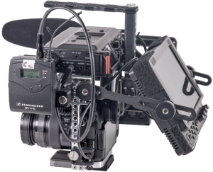 true grip cage gh4 monitor