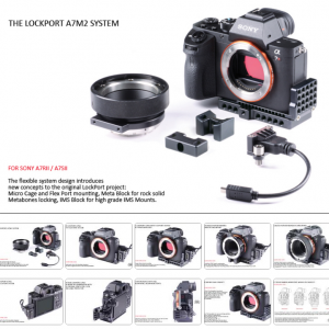 Sony A7s II Cage A7R II Cage LockPort LockCircle Cage
