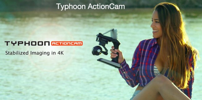 Yuneec SteadyGrip ActionCam 4K Stabilization Gimbal