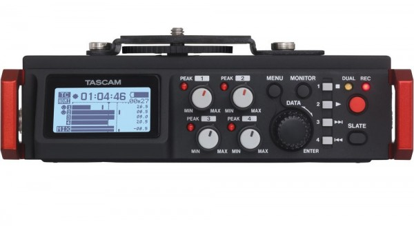 tascam dr-701d multi track recorder front face