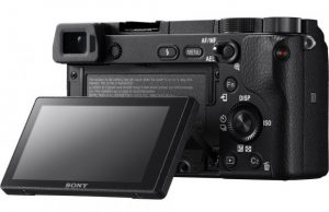 Sony a6300 4k aps-c super 35 camera back screen