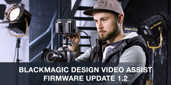 video assist blackmagic firmware update 1.2
