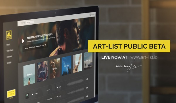 Art-list Public Beta 1