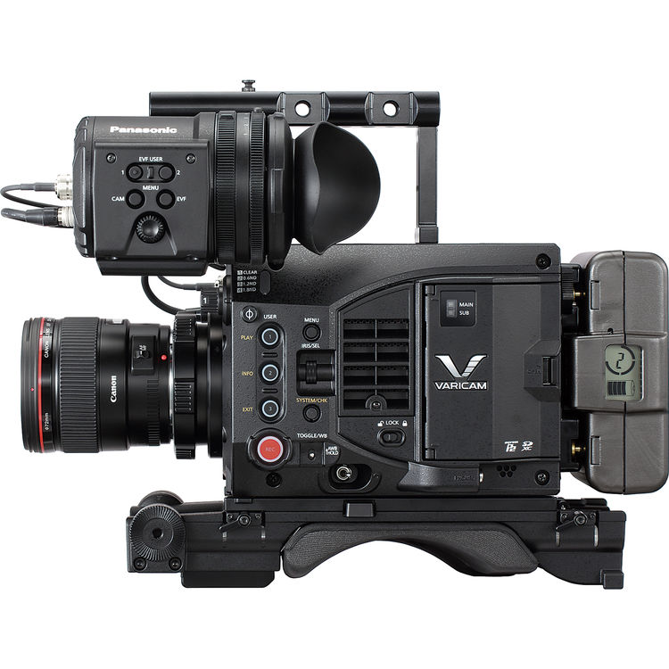 Varicam LT Canon EF Mount Side View