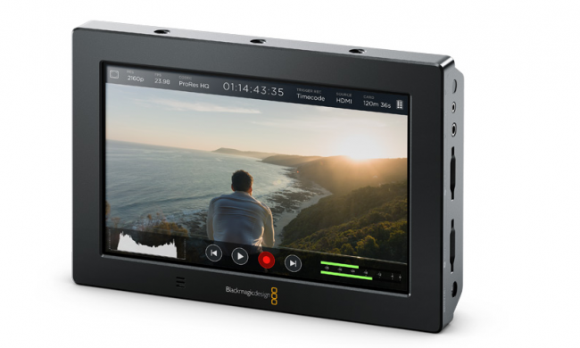 Blackmagic Video Assist 7 inch 4K recorder monitor NAB 2016
