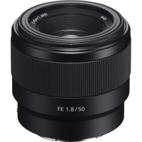 Sony FE 50mm 1.8 full frame lens