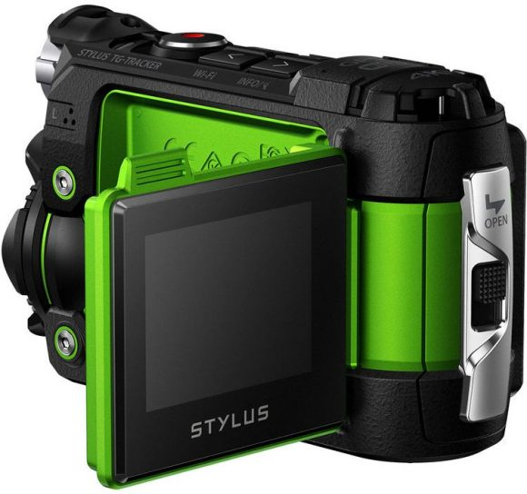 Olympus Tough Stylus TG-Tracker 4K Action Camera Back