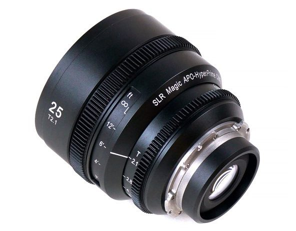 SLR MAgic APO HyperPrime 25mm T2.1