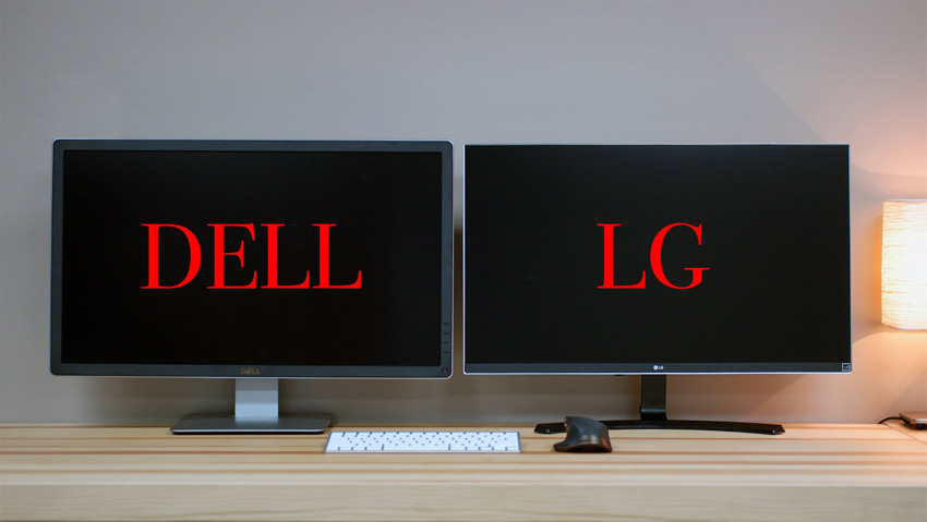 Dell P2715q Vs Lg 27ud68 Two High Quality 4k Editing