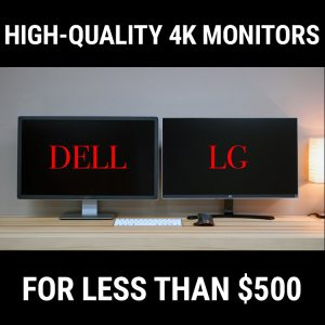 Dell P2715Q_vs_LG 27UD68_4K_Monitors_Square