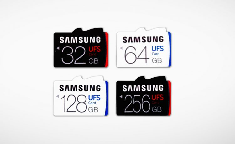 UFS Samsung 256GB UFS Card