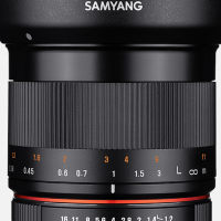 Samyang 35mm f1.2 E mount APS-C lens