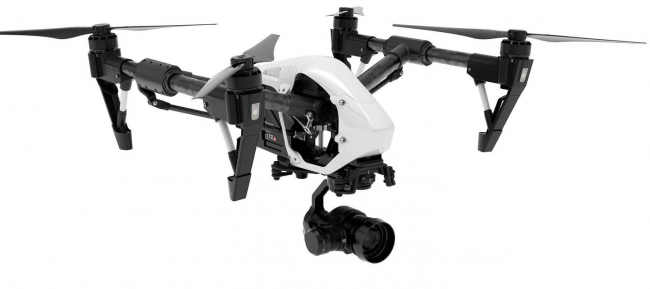 DJI Inspire 1 Pro with Xenmuse X5