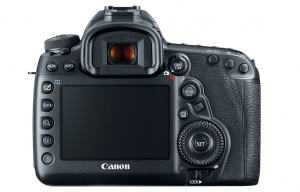 Canon EOS 5D Mark IV Back LCD Touch Screen