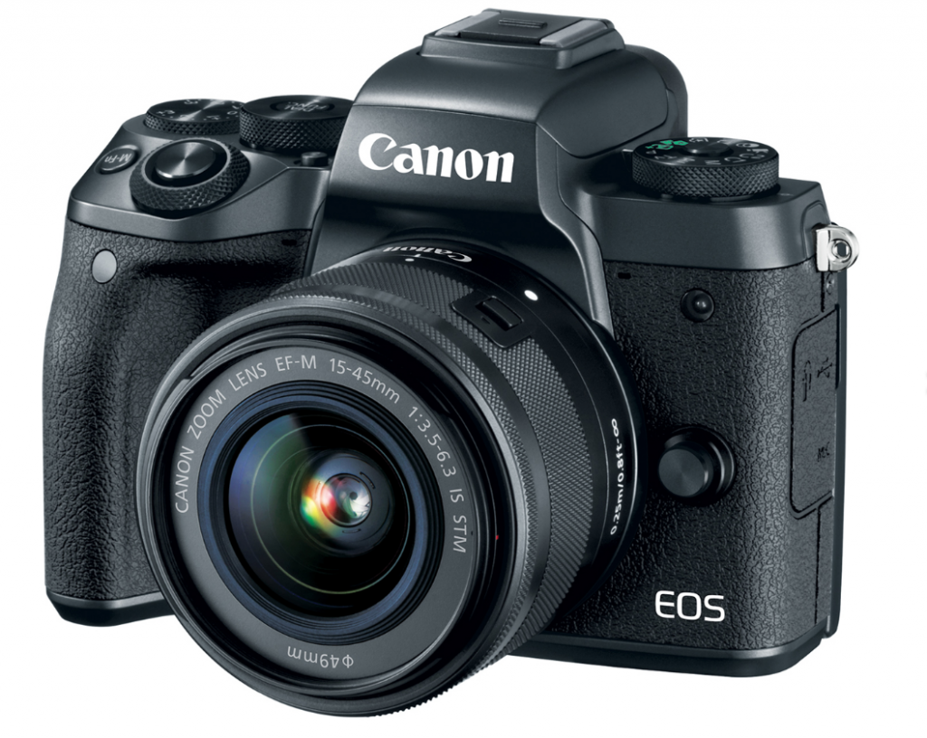 Canon eos m5 has a in camera image stabilization and super for M5s camera