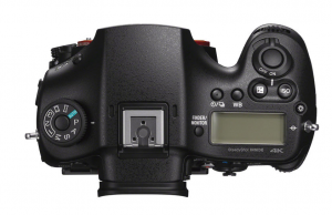 Sony alpha a99 II top