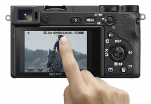 sony a6500 touchscreen af