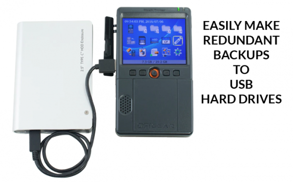 DFI Gear Kickstarter Flash Porter backup