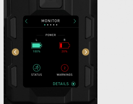 Freefly MoVI Pro Screen Indicator
