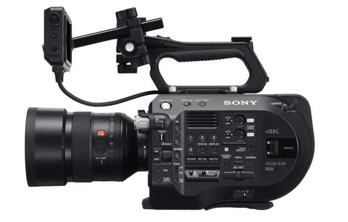 Sony FS7 Mark II 24-70mm f2.8 G Master Zoom Lens
