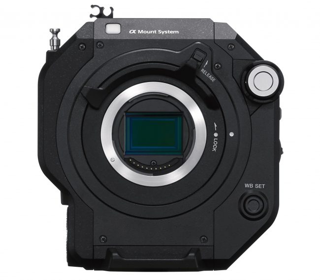 Sony FS7 II Locking Type E mount lens mount