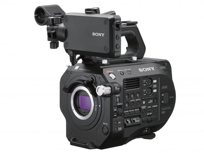 Sony FS7II Sony FS7 2, Sony Fs7 Mark II Front Lock type mount
