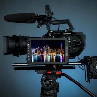 SmallHD 702 OLED Monitor and 1703-P3 IPS LCD Reference Grade Production Monitor