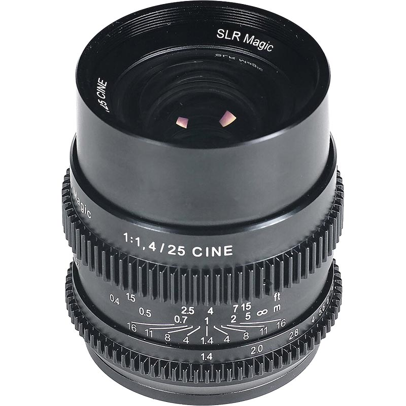 SLR Magic 25mm f1.4 E mount Full Frame Lens