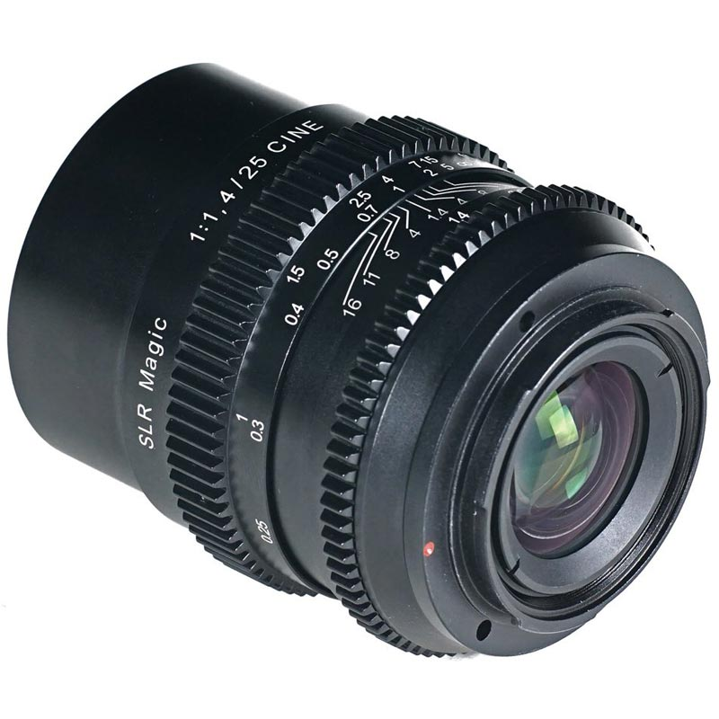 SLR Magic 25mm f1.4 E mount