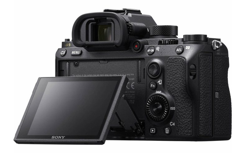 Sony a9 Back LCD