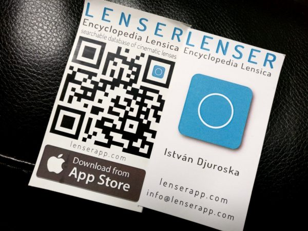 Lenser - iOS and Android Lens Database APp
