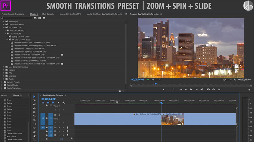 how to repeat an audio clip premiere