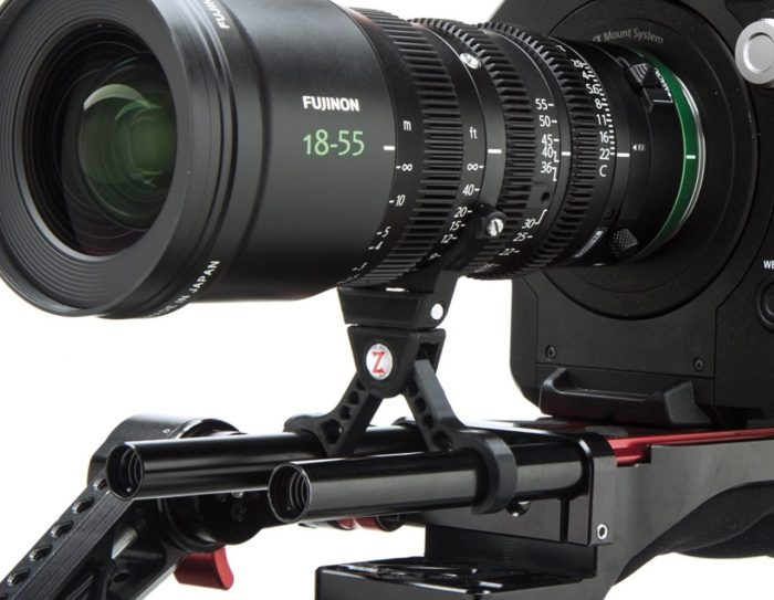 Zacuto Scissor Lens Support Fujinon MK Series 18-55mm