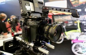 Shape GH5 cage Atomos Booth MPS 2017