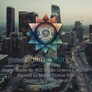 PhilmColor Digital Film LUT for RED Ipp2