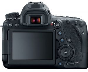 canon 6d mark ii back touch screen