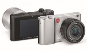 Leica TL2 Silver Black Front